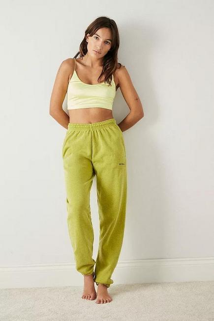 Urban Outfitters - Lime Out From Under Mi Amor Crop Top, Women