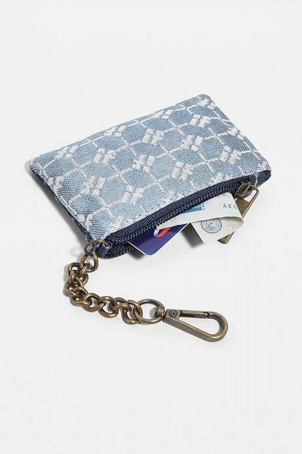 Urban Outfitters - NAVY iets frans... Monogram Clip-On Pouch
