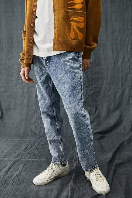 Urban Outfitters - Blue BDG 90S Wash Recycled Dad Jeans, Men
