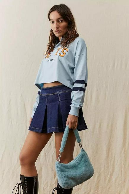 Urban Outfitters - SKY UO Faux Fur Shoulder Bag