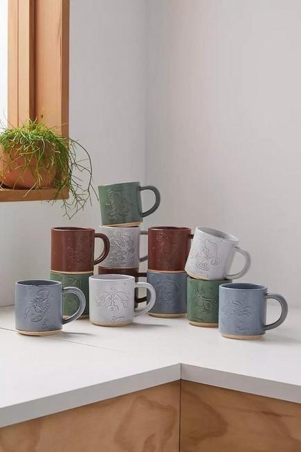 Urban Outfitters - Aquarius Zodiac Stacking Mug