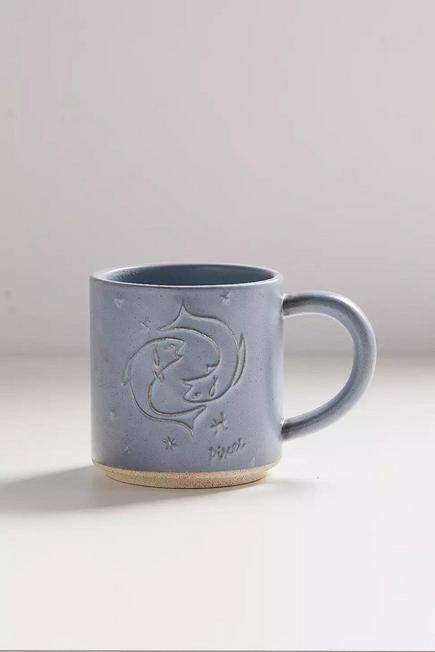 Urban Outfitters - Pisces Zodiac Stacking Mug