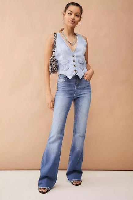 Urban Outfitters - Denim Miss Sixty Flare Jeans, Women