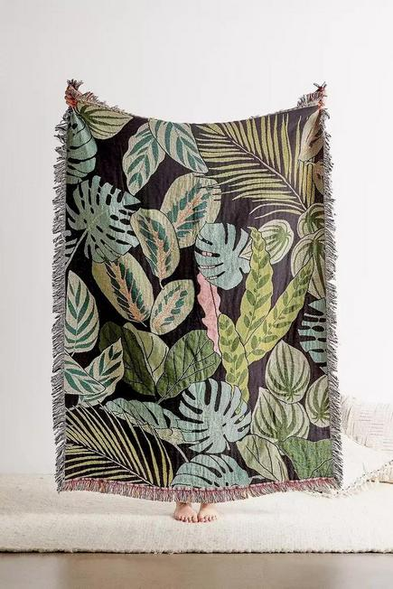 Urban Outfitters - GRN Plant Lovers Throw Blanket