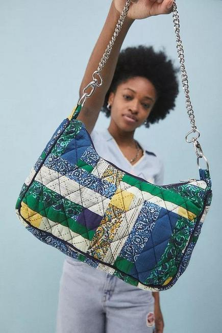 Urban Outfitters - BL MOTIF UO Patchwork Chain Shoulder Bag
