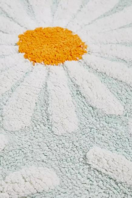 Urban Outfitters - Mint Daisies Mint Tufted Bath Mat