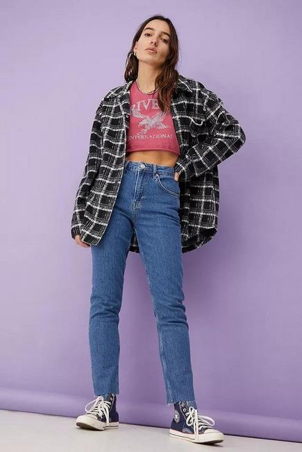 Urban Outfitters - Denim BDG Laine Mid-Wash Slim-Fit Jeans, Women