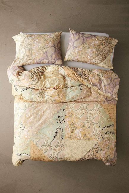 Urban Outfitters - Assorted Anika Paisley Print Duvet Set With Reusable Fabric