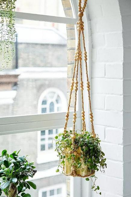 Urban Outfitters - NEUTR Beaded Hanging Planter