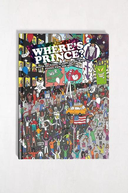 Urban Outfitters - Assorted Where's Prince: Search For Prince In 1999, Purple
