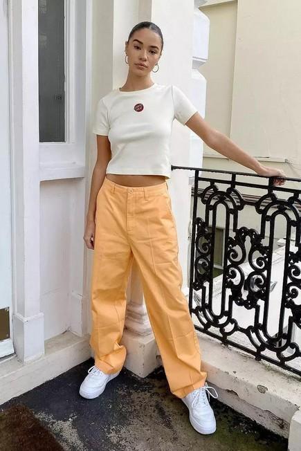 Urban Outfitters - PEACH Santa Cruz UO Exclusive Peach Nolan Chino Trousers