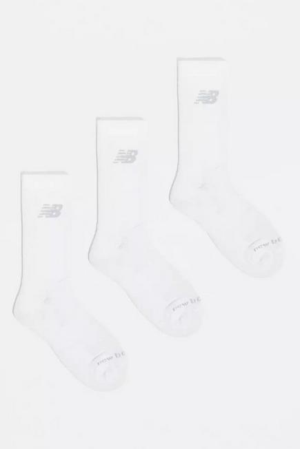 Urban Outfitters - White New Balance Crew Socks 3-Pack, Men