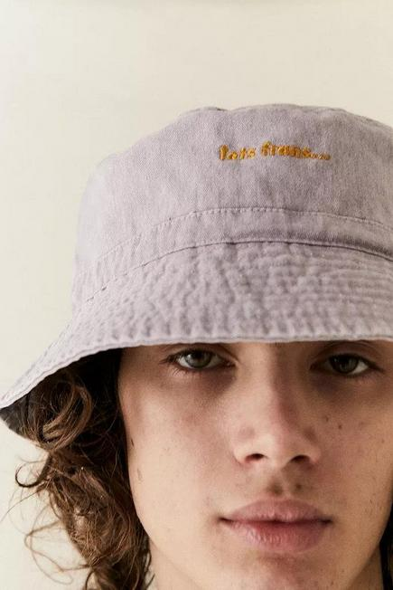 Urban Outfitters - Purple iets frans... Washed Bucket Hat, Men