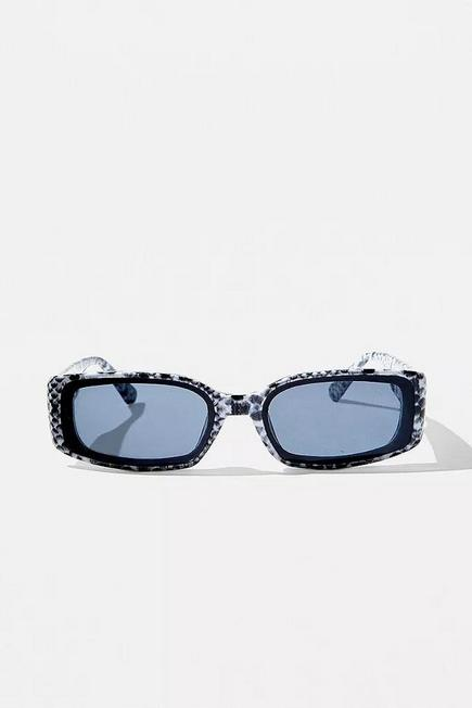 Urban Outfitters - Grey iets frans... Snake Print Fenton Sunglasses, Men