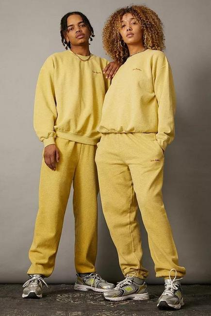Urban Outfitters - Yellow iets frans... Buttermilk Joggers, Unisex