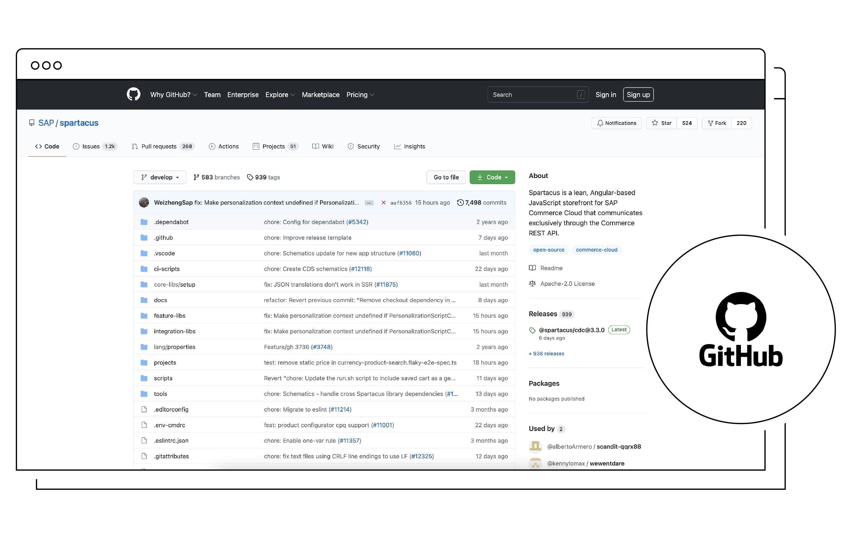 Screenshot Gitlab