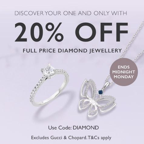 Le Vian diamond pendant 20% off full price jewellery
