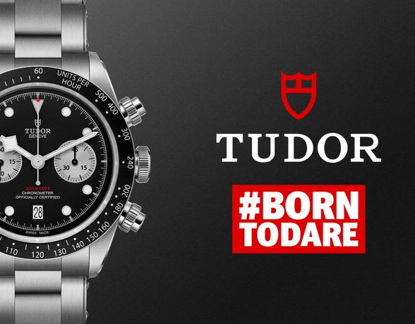 Tudor Black Bay Chrono at Ernest Jones