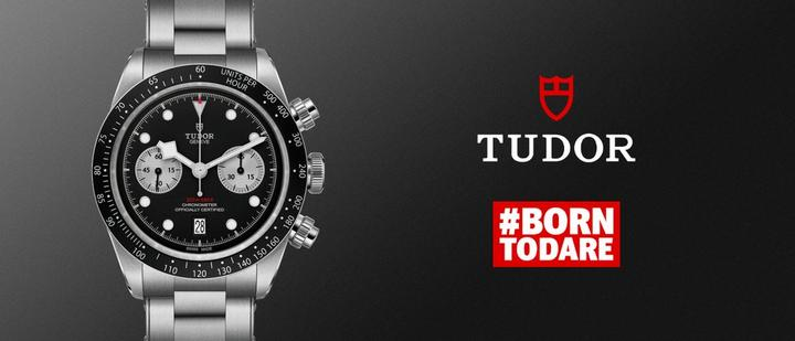 New Tudor Black Bay Chrono at Ernest Jones