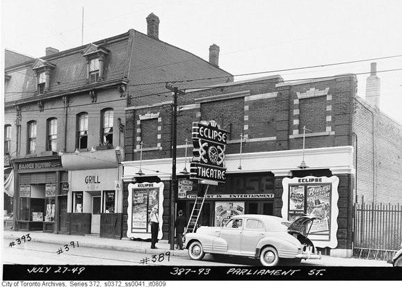 Archival photo from 1949, a few years before Harry opened shop.