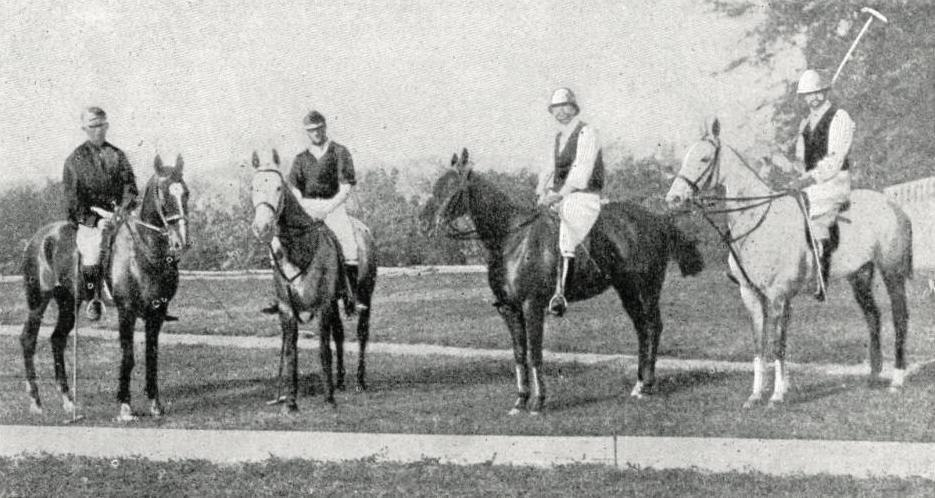 Le Bagatelle Polo Club de Paris, 1900
