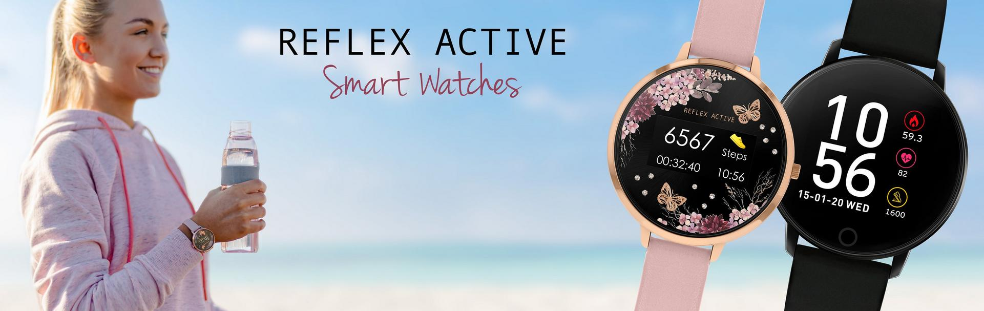 reflex active smart watches