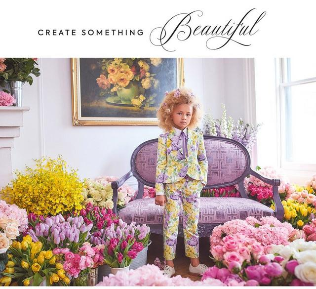 Create something beautiful. Shop our new Easter collection for girl.