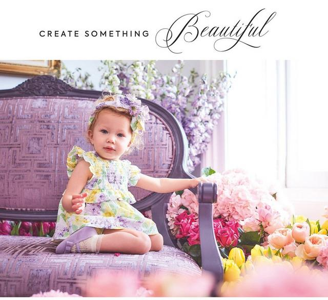 Create something beautiful. Shop our new Easter collection for newborn.