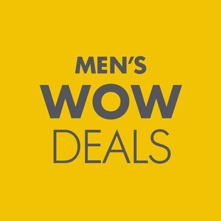 Men's WOW Deals