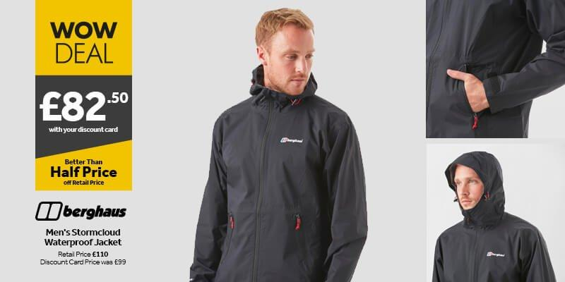 Berghaus Men's Stormcloud Jacket
