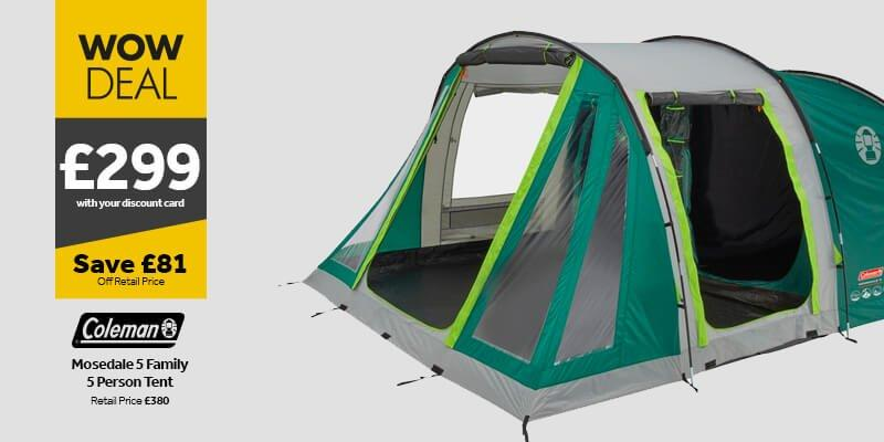 Coleman Mosedale 5 Tent