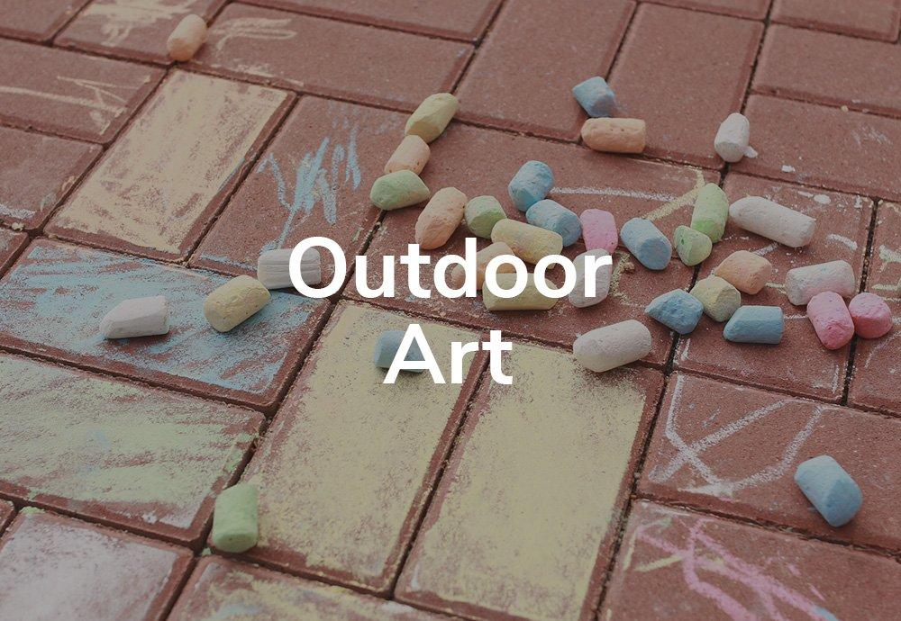 Outdoor Art: Colour In Your World