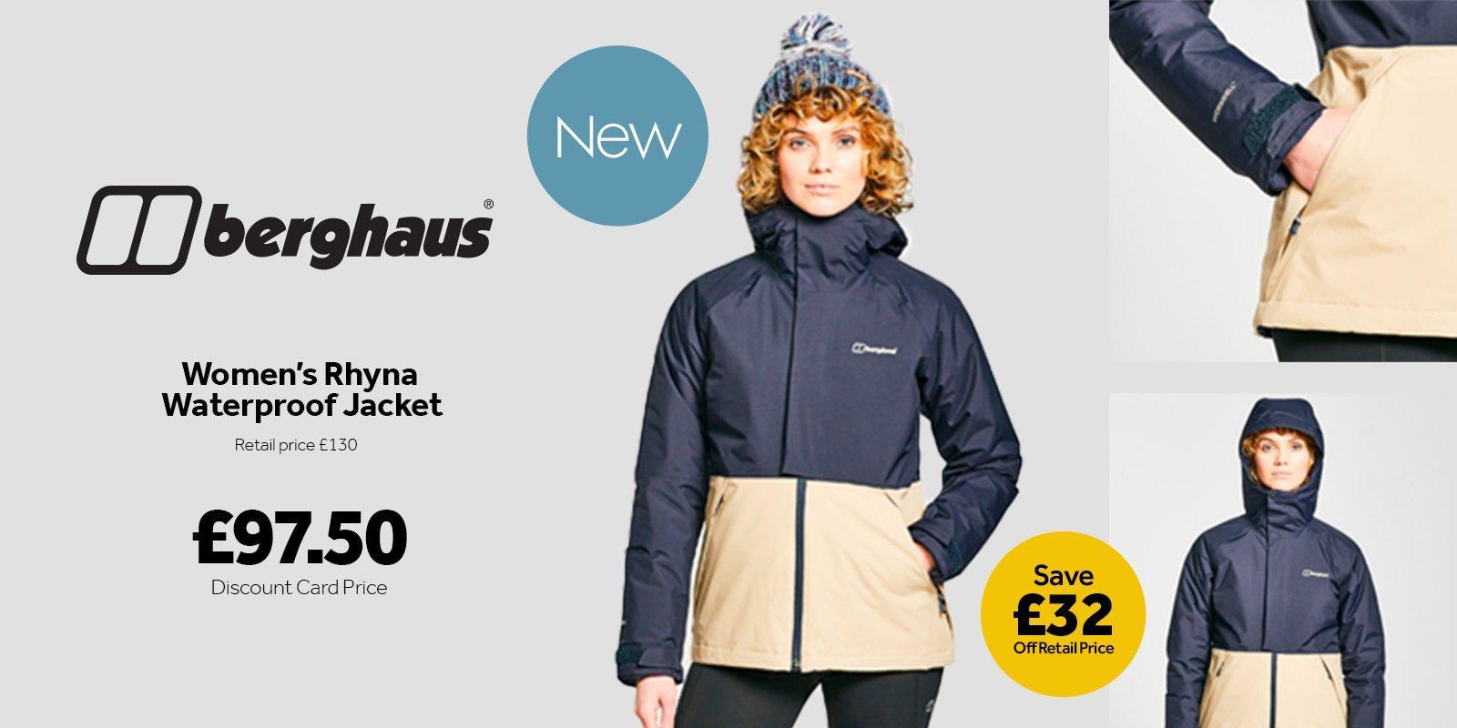 Women's Rhyna Waterproof Jacket