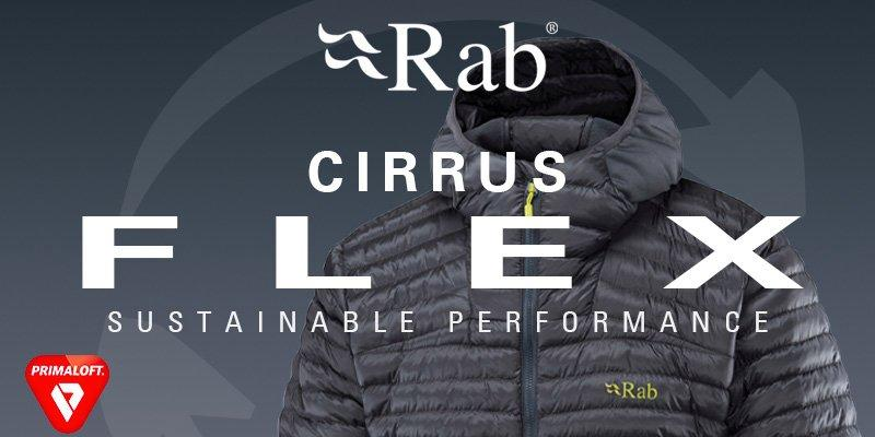 Rab Cirrus brand banner