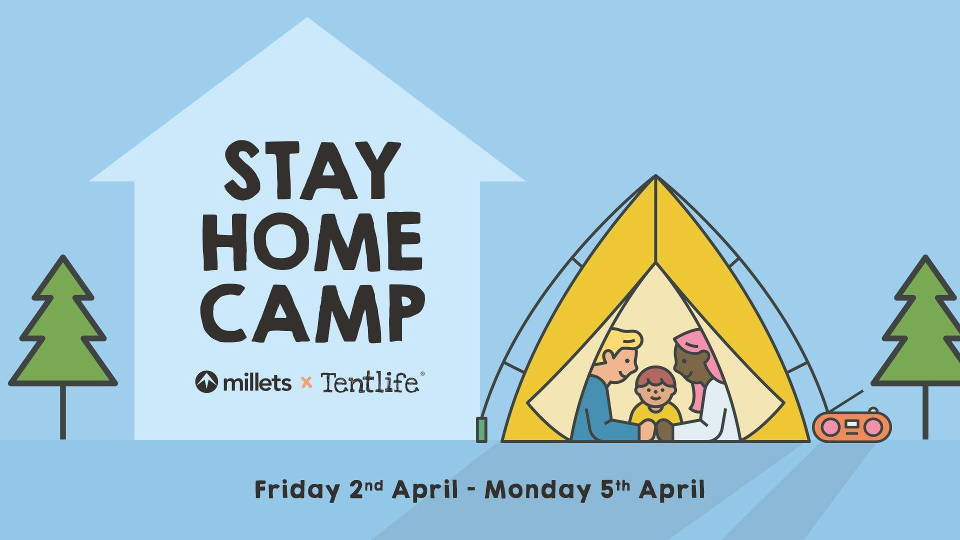 Stay Home Camp Event