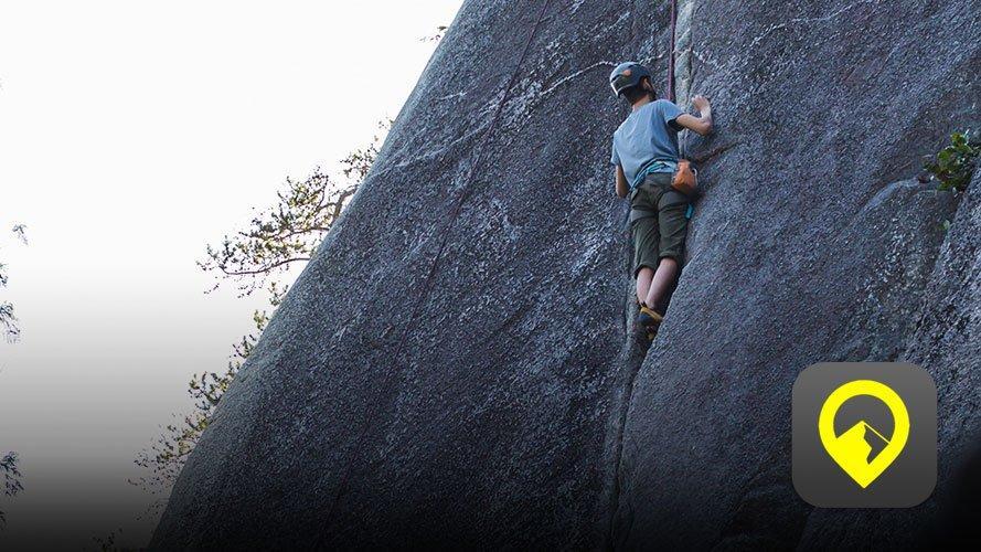 Rock Climbing and 27 Crags logo