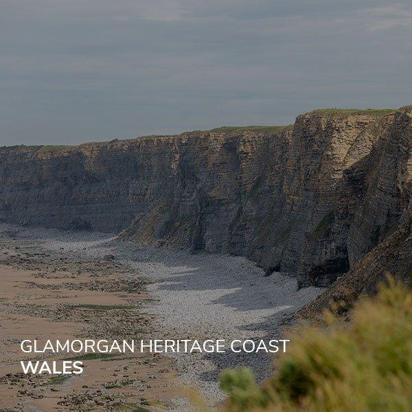 Image of the Glamorgan Heritage Coast, one of the best secret walks in Wales.