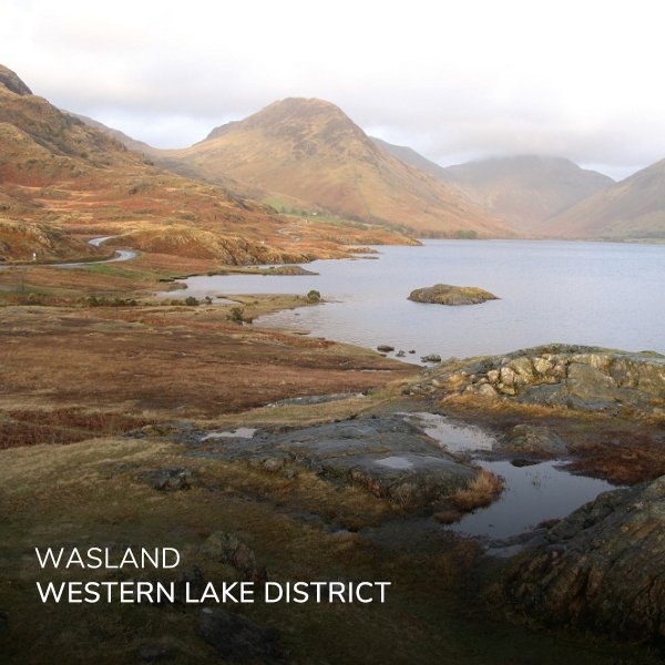 The view of Wast Water, a walking hidden gem in the Western Lake District