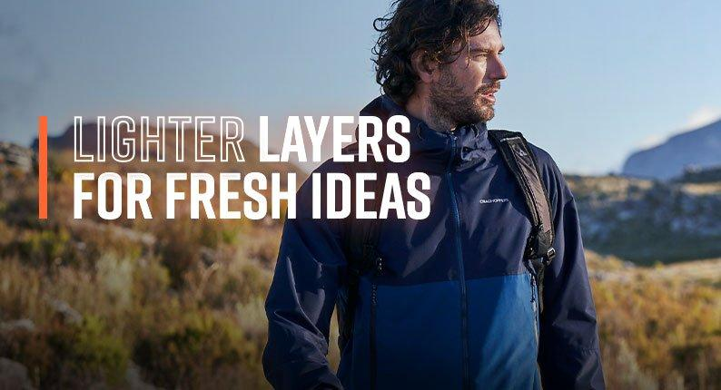 Lighter Layers For Fresh Ideas
