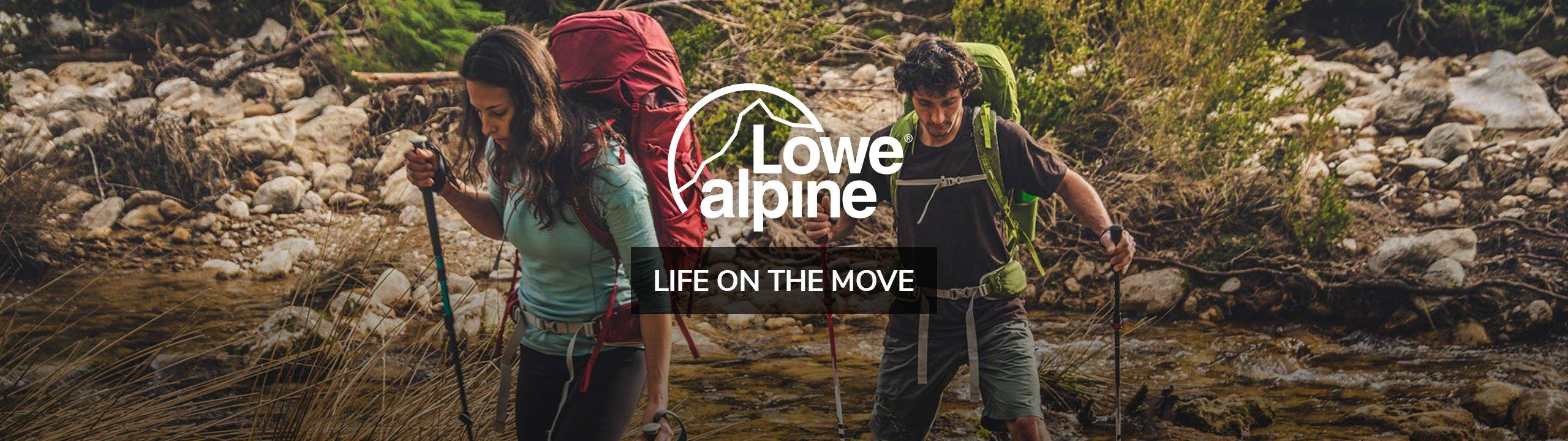 Lowe Alpine - Life on The Move