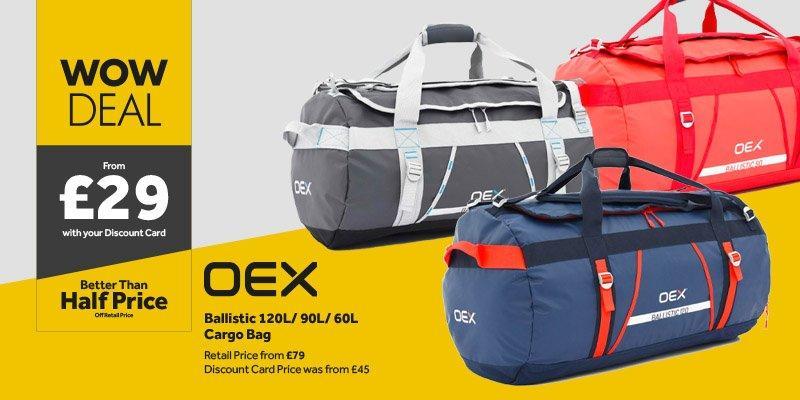 OEX Ballistic Cargo bags