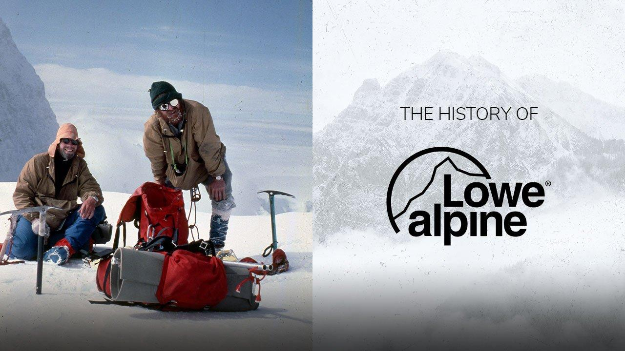 History of Lowe Alpine