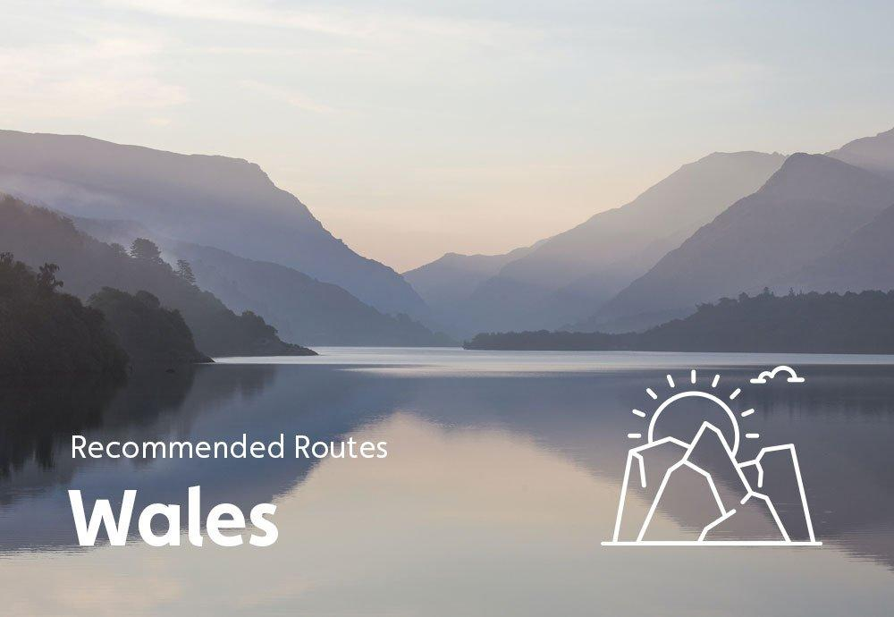 Recommended Routes: Wales
