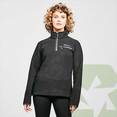 image of Berghaus Women's Darria Half Zip Fleece