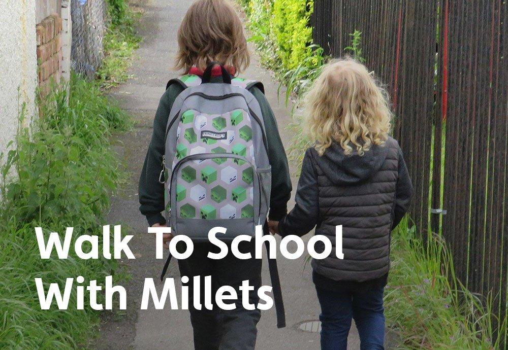 Walk To School With Millets