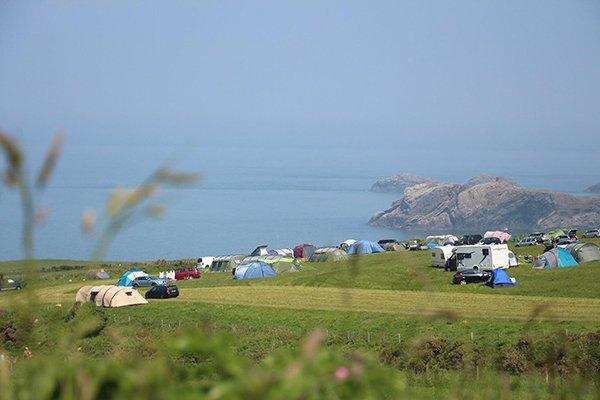 Image of the Celtic Camping campsite in Pembrokeshire