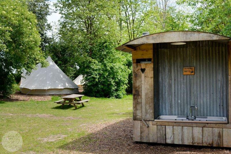 Image of the Bodiam Camping campsite in East Sussex