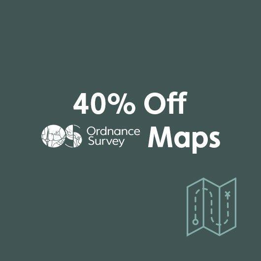 40% Off Ordnance Survey Maps