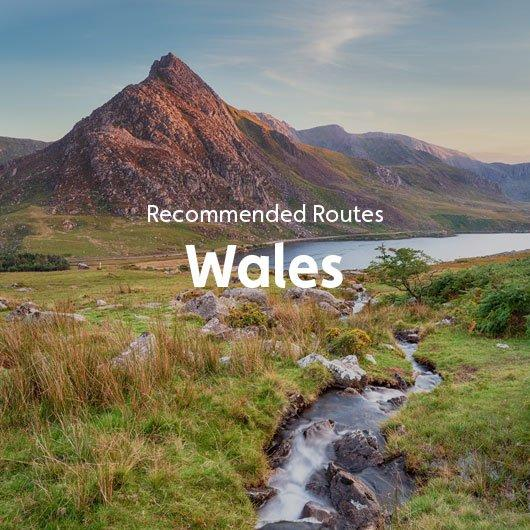 Recommended Routes in Wales