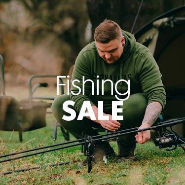 Fishing sale